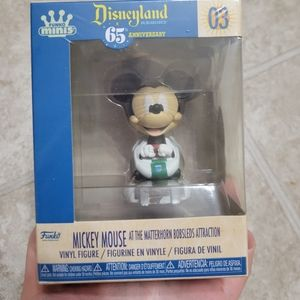 Disneyland 65th Mickey on The Bobsleds Funko Mini